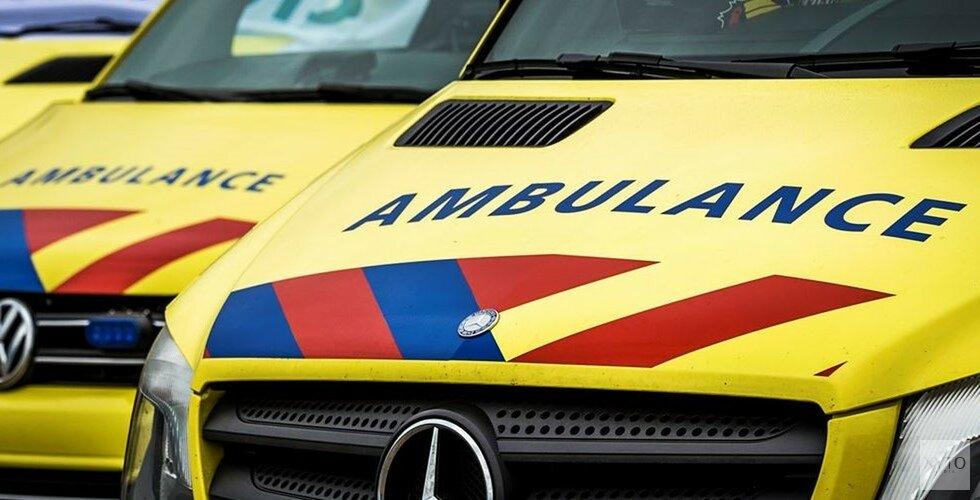 Scooterrijder gewond bij ongeluk in Bloemendaal