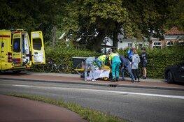 Wielrenner gewond na valpartij in Bloemendaal