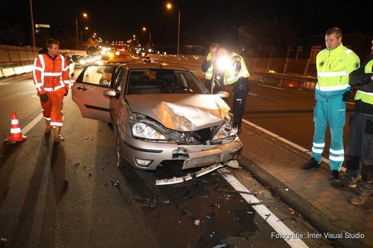 Ongeval op N208 in Overveen