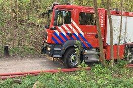 Brand in natuurgebied bij Aerdenhout, politie zoekt mogelijke brandstichter