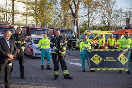 Hulpverleners steken hart onder de riem voor zorgmedewerkers