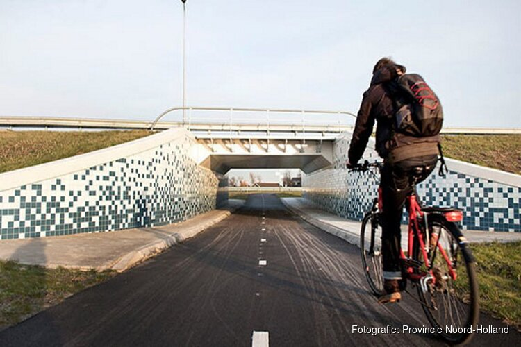 Doorfietsen in Noord-Holland