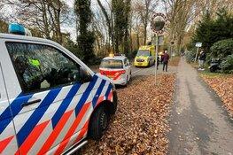 Ongeluk tussen scooter en fietsster in Aerdenhout
