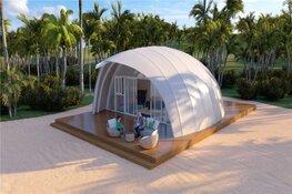 Nieuwe luxe accommodaties op Camping de Lakens